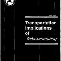 Telecommuting/DOT [2]