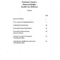 Post-Health Security Act/Budget 96 [3]