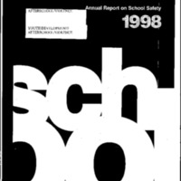 Youth Development/Afterschool/Violence-1998 Annual Report on School Safety [Bound Material]