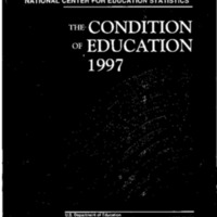 Condition of Education 1997 [publication]