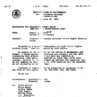 Civil Rights Working Group [1]