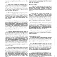 Women's Earnings 1998 - BLS [Bureau of Labor Statistics]