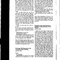 National Service Initiative 4/30/93