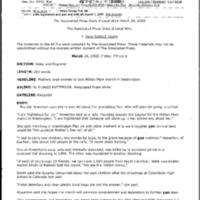Framing on Domestic Agenda 3/29/00 [2]