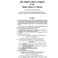 Health Insurance Portability and Accountability Act of 1996 [3]