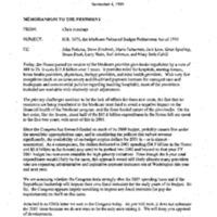 Balanced Budget Act/Givebacks [9]