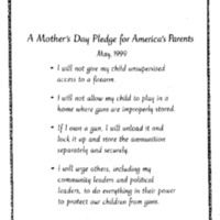 Crime/Guns/Mother's Day Event 5-99