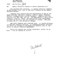 Mitchell Senate 1994 [Agency Comments] [1]