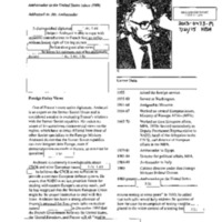 Declassified documents concerning France