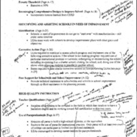 Education-ESEA [Elementary and Secondary Education Act] Title I