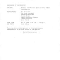 80 Memcon Russian Special Envoy Viktor Chernomyrdin May 3 1999.pdf