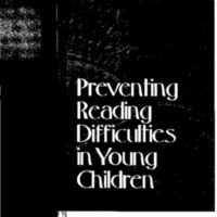 Preventing Reading Difficulties in Young Children [publication] [Folder 2]