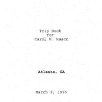 Atlanta Trip - March 9, 1995