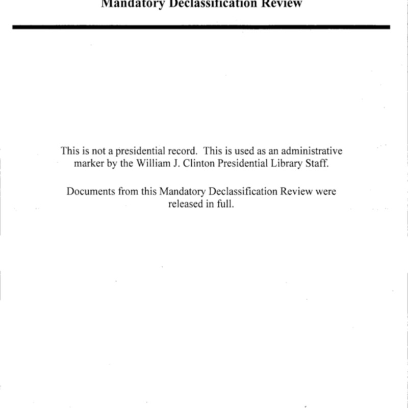 Declassified Documents Concerning Haiti