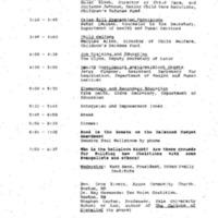 CDF Luncheon/Speech 15 Dec. '94 1:15 - 2:00