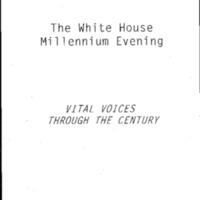Millennium Evening - Women as Citizens Vital Voices Through the Century: [Press]