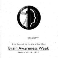 Brain Awareness Week, March 17-23, 1997 (Early Childhood Development)