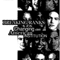 High Schools Breaking Ranks [publication]