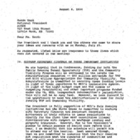 ACORN [Association of Community Organizations for Reform Now] (Z. Polett) Roosevelt Rm. 25 July 1994 4:00-4:30 pm