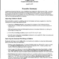 Achievement: Early Childhood Development