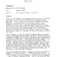Declassified Documents concerning Robert Boorstin, NSC Speechwriter