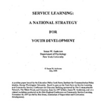 [Education - Service Learning]