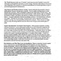 Preventing Genetic Discrimination in Federal Hiring [2]