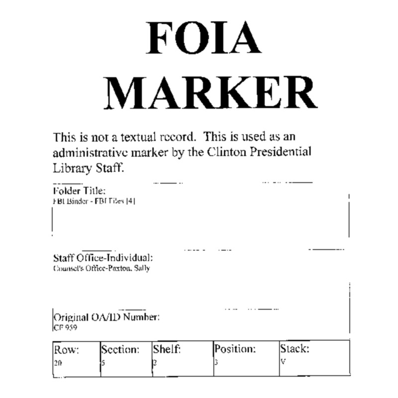 FBI Binder – FBI Files [4]