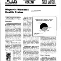 Health Reform-National Council of La Raza Fact Sheet-Hispanic Women's Health