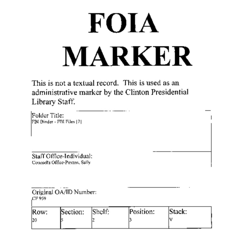 FBI Binder – FBI Files [7]