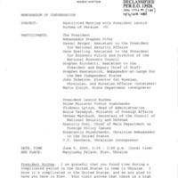 60 Memcon President Leonid Kuchma of Ukraine June 5 2000.pdf