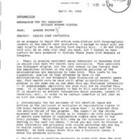 FOIA 2006-0885-F - Ira Magaziner's Health Care Task Force Files [Seg.2]