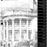 Executive Office of the President Telephone Directory [publication]