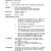 Health Care: Retail Drug (EOB 472) 22 Nov. '94 2:00 - 3:00