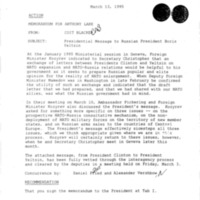 Declassified Documents Concerning Coit Blacker