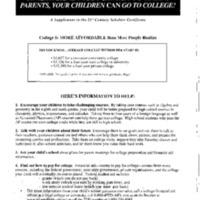 Charter Schools [Folder 1]