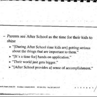 Youth Development/Afterschool/Violence-After School Programs-Strategic Audit Debrief [2]