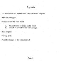 Medicare Reform - Extend Solvency [6]