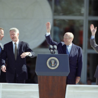 Bush Library Dedication