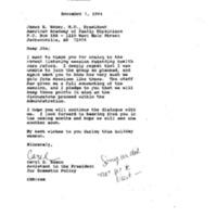 Health Care: Physician Groups 29 Nov. 1994 1:00 - 2:00