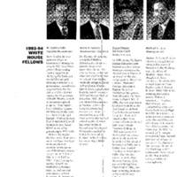 White House Fellows Association (OEOB-450) 5-5-94