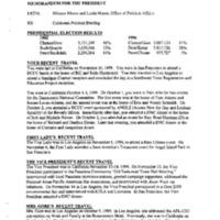417101 [California Political Briefing Memorandum]