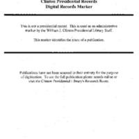 Komen Foundation Briefing (Indian Treaty Rm) 6-16-94 1:30-3:30 [2]