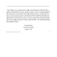 Speech Drafts - Michael Waldman - Education - Report