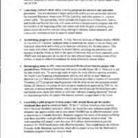 Health Reform:  Mental Health Conference [June 7, 1999]