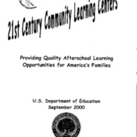 Community Learning Centers [publication] [Folder 1]