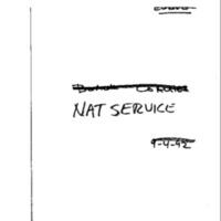 NAT [National] Service
