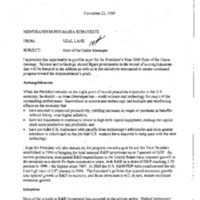 New Ideas - DPC [Domestic Policy Council] FY01 [2]