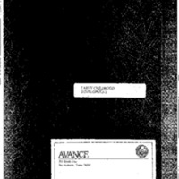 Avance: Family Support and Education Programs, 1993 (Early Childhood Development)