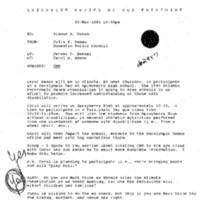 Atlanta Trip - March 9, 1995: Trip to Atlanta: Paralympic Day Visit, Ed Board, Mtg. w/ Mayor